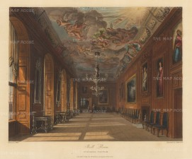 Interior of the Ball Room.