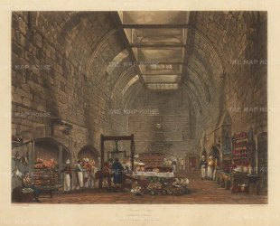 Interior of the Kitchen.