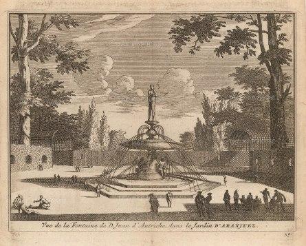 Fountain of Don John of Austria, Victor of the Battle of Lepanto: Garden of Aranjuez.