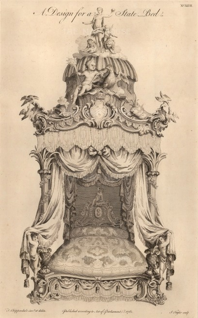 Design for a State Bed. No.XLVII: