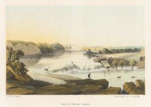 Rio Salado: View of the falls.