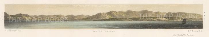 Pan de Cabanas: Coastal profile.