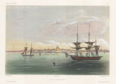 Montevideo, Uruguay: View of the port.
