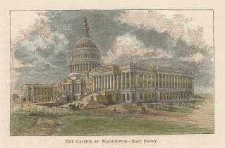 Washington DC: East prospect of the Capitol.