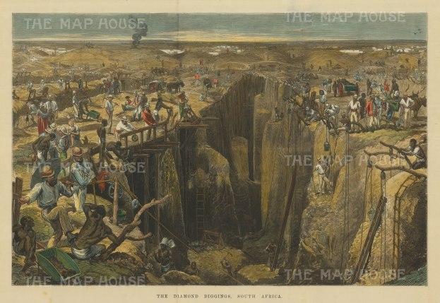Diamond Mines. in 1872