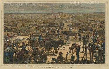 Diamond Mines in 1872.