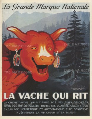 Laughing Cow: La Vache Qui Rit.