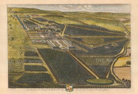 Cassiobury, Hertfordshire: Seat of the Earl of Essex.