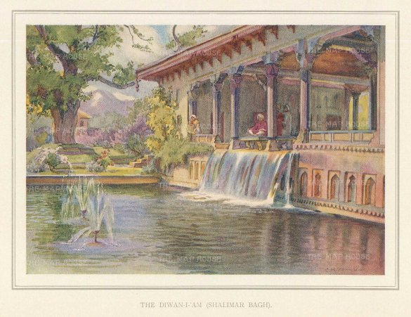 Lahore: Shalimar Bagh: The Diwan-I-Am. Villiers-Stuart resided in India and was a Fellow of the Royal Horticultural Society and the Institute of Landscape Architects.