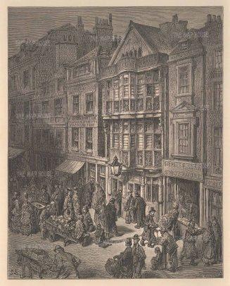 East End Street Scene.