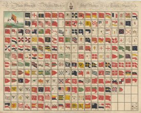 SOLD. Flags of Nations to include flags of pirates, the Barbary Rovers and Bloody Sallee, and companies, the short lived Brandenburg West India and formidable British East India.