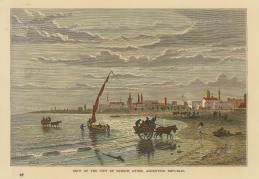 Buenos Ayres: View on the shore.