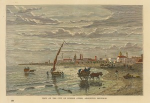 Buenos Ayres, Argentina: View on the shore.