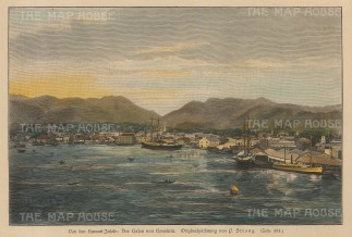 Honolulu Harbour.