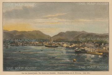 Honolulu Harbour.