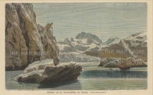 Alaska: Glaciers and Icebergs.