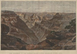 Grand Canyon: The Transept in the Kaibab.