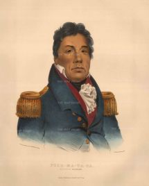 Push-Ma-Ta-Ha: Chactaw Chief who fought with the Americans in the War of 1812.