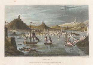Algiers, Algeria: View of the port.