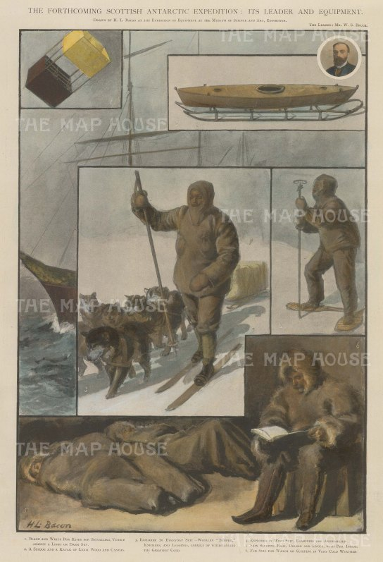 Scottish National Antarctic Expedition: Its leader William Speirs Bruce and the equipment: