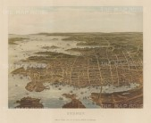 "Collins: Sydney. c1880. An original antique chromolithograph. 10"" x 8"". [AUSp720]"