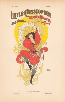 Little Christopher Garden Theatre: Advertisement for the New York City theatre on Madison Avenue and 27th Street opened in 1890.