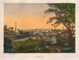 "Silber: Dublin. 1850. An original colour lithograph. 15"" x 12"". [IREp464]"