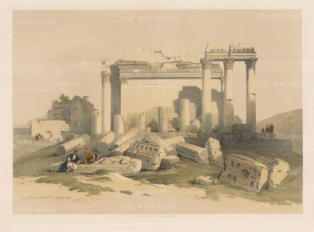 Baalbec: Fortress of the Eastern Portico.