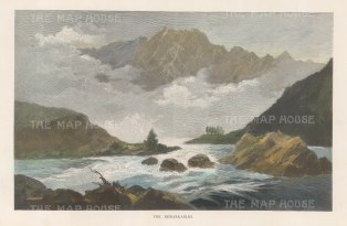 Otago: View of the Remarkables and Lake Wakatipu.