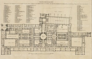 "Illustrated London News: Parliament. 1843. An original antique wood engraving. 14"" x 9"". [LDNp10508]"