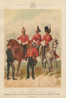 Heavy Cavalry: Dragoon Guards.