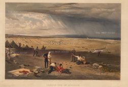 Camp of the 3rd Division, Crimean War: