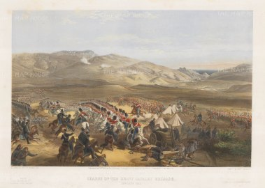 Charge of the Heavy Cavalry Brigade, Crimean War.