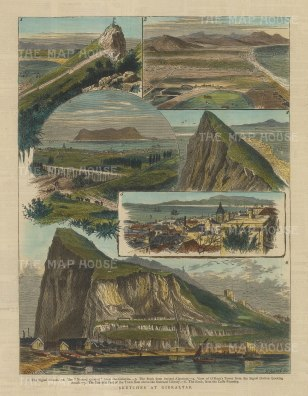 Sketches at Gibraltar: Six scenes around the Rock.