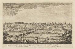"Sayer: Madrid. 1774. An original antique copper engraving. 18"" x 12"". [SPp1058]"