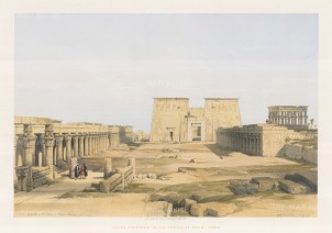 Grand Approach to the Temple of Philae.