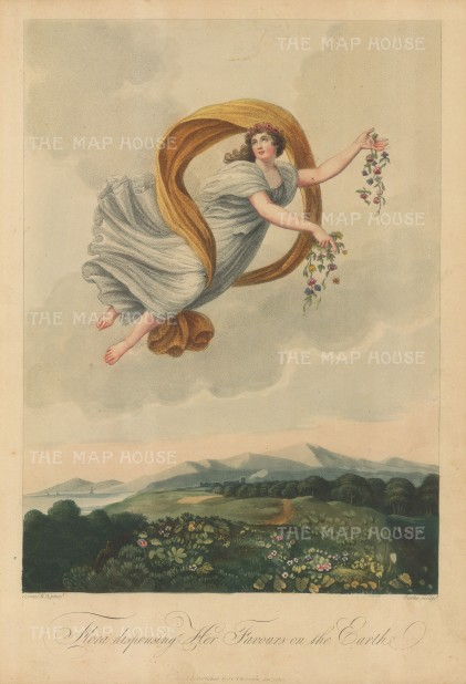 Flora Dispensing Her Favours on the Earth. 1812