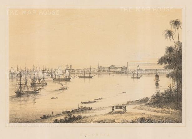 Harbour of Calcutta.