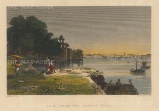 Agra: From the Jamara Baug.