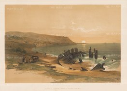 Caiphas looking towards Mount Carmel.