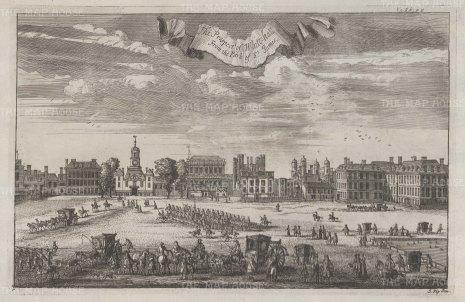 Whitehall: Prospect from St James's Park.