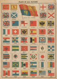 Flags of All Nations, from Britain to Chile.