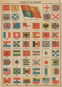 Flags of All Nations: from Britain to Chile.