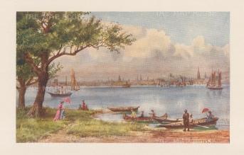 """Mower Martin: Toronto. 1907. An original antique chromolithograph. 6"""" x 5"""". [CANp653]"""