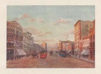 Winnipeg: Main Street and Portage Avenue.