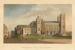 SOLD. Westminster Abbey and St Margaret's: The current 13th century church is designated a 'Royal Peculiar', responsible directly to the Monarch rather than a Bishop.