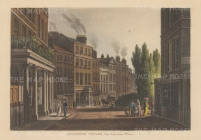 Leicester Square: View from Leicester Place.