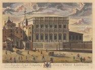 "Smith: Banqueting House. 1724. A hand coloured original antique copper engraving. 23"" x 19"". [LDNp8234]"