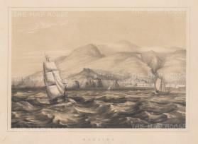"Anderson: Funchal, Madeira. 1859. An original antique lithograph. 11"" x 8"". [AFRp981]"