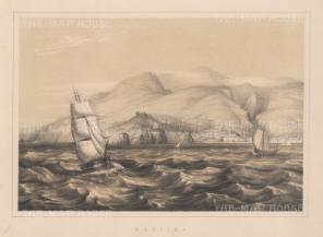 "Anderson: Madeira. 1859. An original antique lithograph. 11"" x 8"". [AFRp981]"